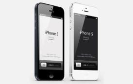 גרפיקה וקטורית להורדה – אייפון 5 בקובץ PSD פתוח