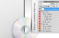 מוקאפ מעוצב בקובץ PSD של עטיפת דיסק ואלבום