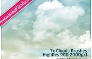 מברשות עננים לפוטושופ להורדה