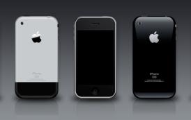 PSD להורדה- כל דגמי האייפון 3G 3GS 2G בכל הצבעים