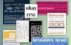 אוסף פונטים גדול לסיכום שנת 2012 בתחום הטיפוגרפיה