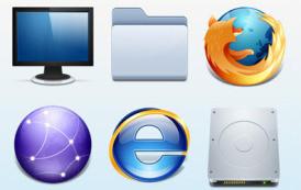 חבילת אייקונים למערכת ההפעלה שלכם- מאת Xedia