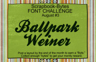 פונט מעוצב בכתב מחובר Ballpark Weiner להורדה
