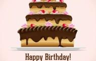 גרפיקה וקטורית – עיצוב של עוגת יום הולדת