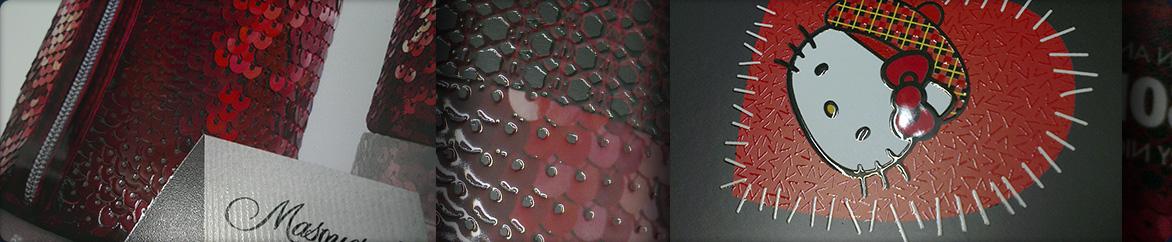 השבחת הדפוס של סקודיקס, יצירת טקסטורות מרשימות עם חומר פולימרי עמיד על שכבת הדפוס הבסיסית