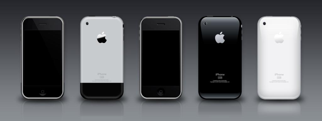 PSD של כל סוגי האייפון