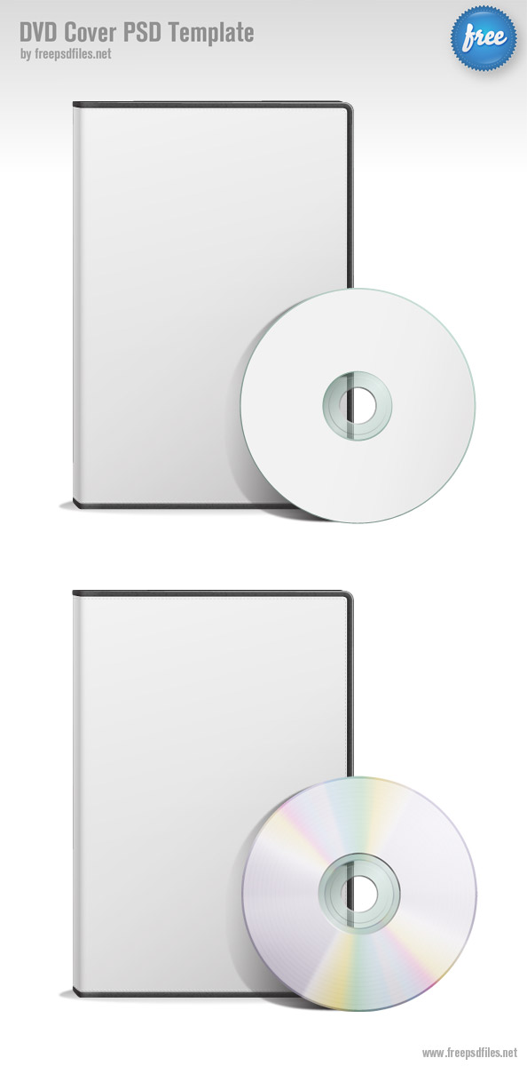 גרפיקה להורדה - עיצוב PSD של דיסק ועטיפה