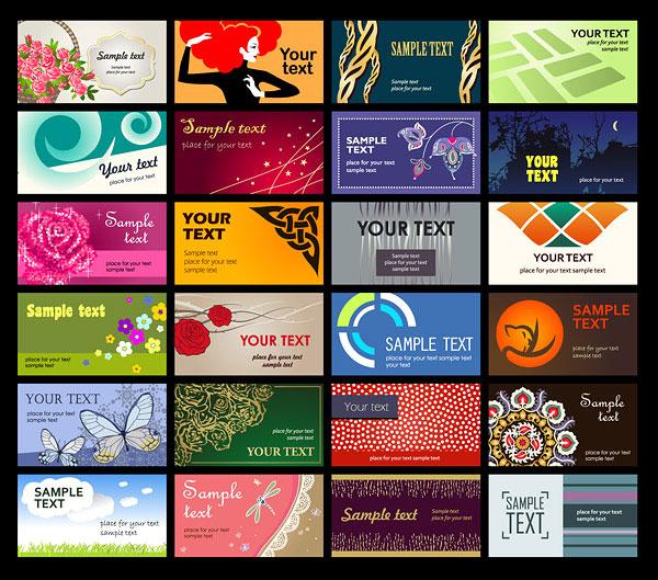 כרטיסי ביקור מעוצבים להורדה