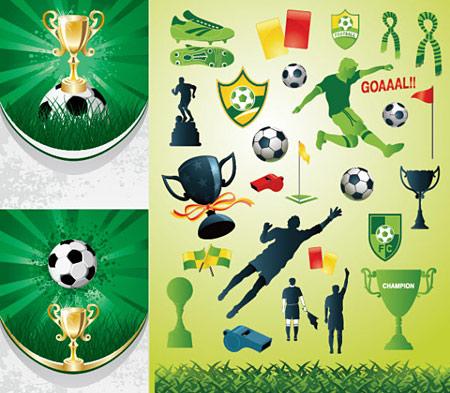 וקטורים של כדורגל