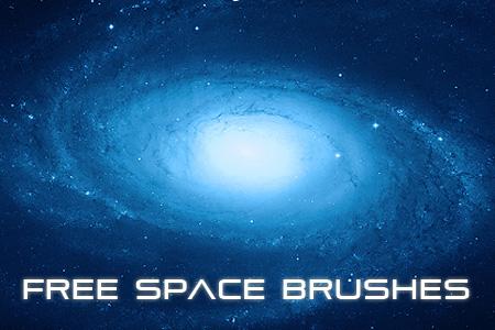 מברשות לפוטושופ של חלל גלקסיה וכוכבים