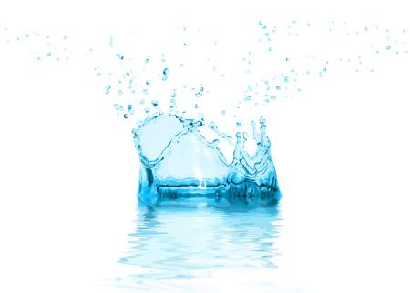 עיצוב מים בוקטור