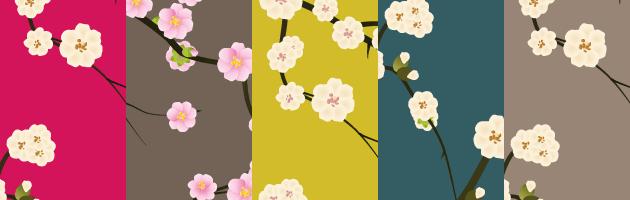 פטרנים של פרחים להורדה