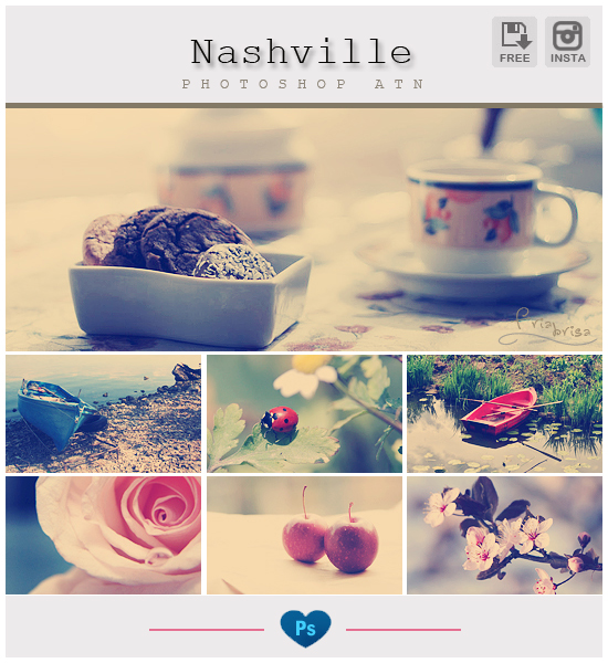 Instagram Nashville - Photoshop Action