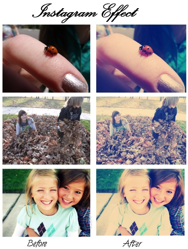 Photoshop Action: Instagram Style Effect FREE