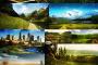 חבילת רקעים HD- רקעים למחשב באיכות מעולה של נופים מעוצבים בפוטושופ