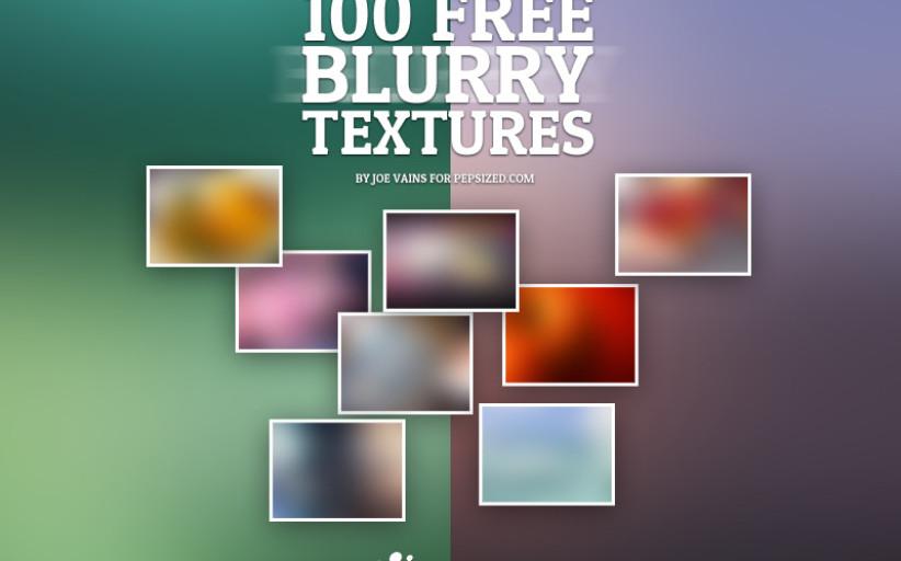 100 טקסטורות מעומעמות (Blurry) להורדה