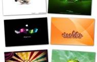 חבילת 100רקעים של אפל APPLE