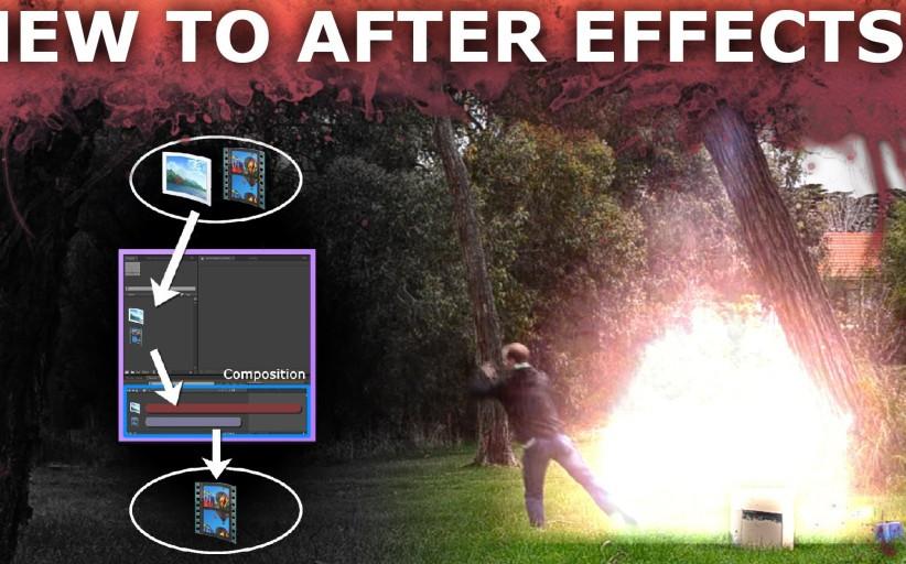אוסף מדריכים למתחילים לתוכנת אפטר-אפקטס Adobe After Effects