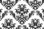 גרפיקה וקטורית – שני עיצובי אריחים (פטרנים) בסגנון מלכותי להורדה