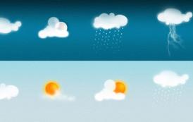 """להורדה psd בנושא """"מזג אוויר"""""""